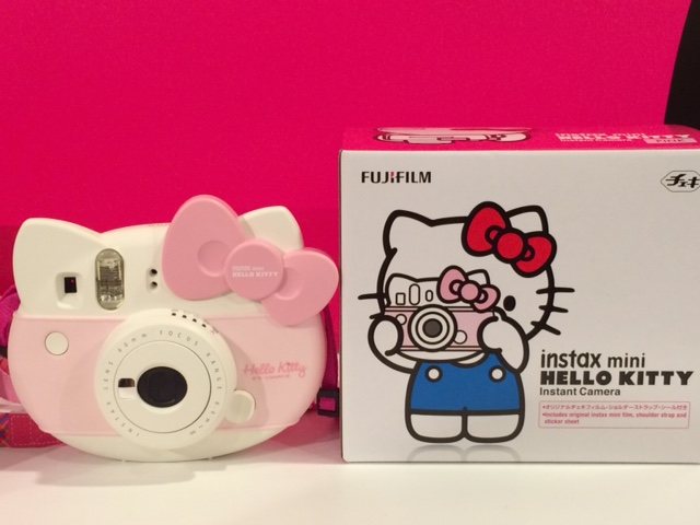 World Halloween Party And Xmas Will Be Boosted By Instant Camera Instax Of Fujifilm Cooperated Charismatic Icon Hello Kitty